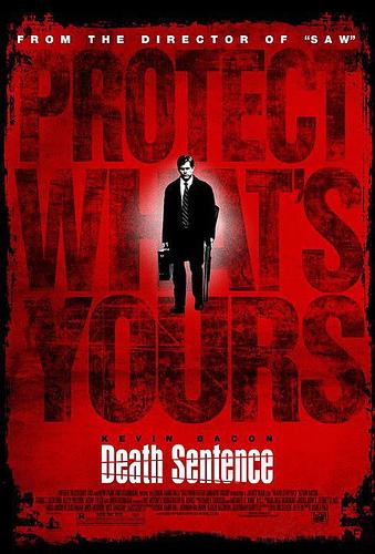 Cartel de Death Sentence, lo nuevo de James Wan